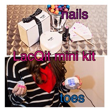 LacQit mini kit nails toes