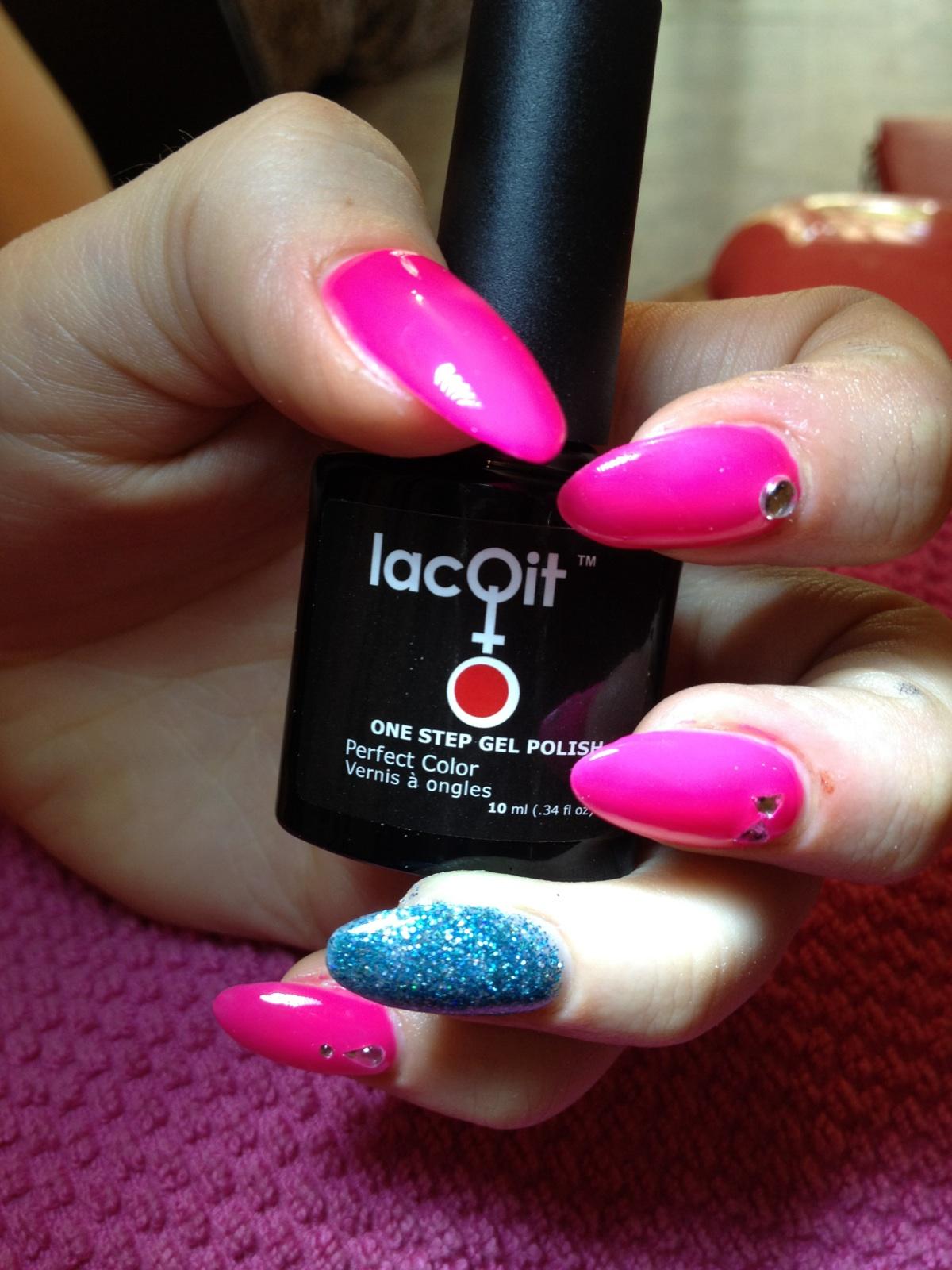 Lacqit One Step Gel Polish Nail Art Gel Nails At Home